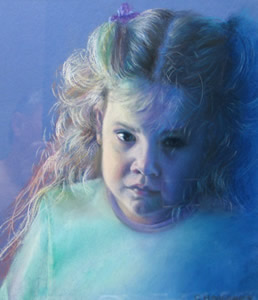 Child Pastel Portrait Artwork